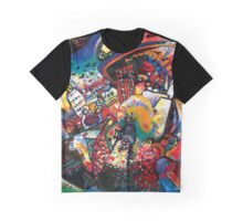 Kandinsky Moscow Cityscape Graphic T-Shirt