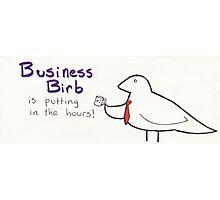 Business Birb Photographic Print