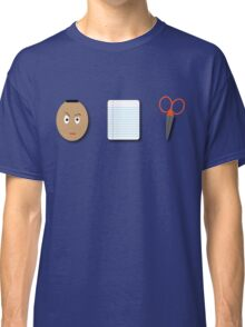 The Rock, Paper, scissors Classic T-Shirt