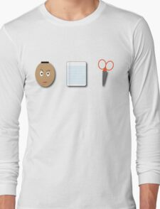 The Rock, Paper, scissors Long Sleeve T-Shirt