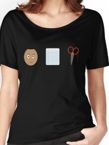 The Rock, Paper, scissors Women's Relaxed Fit T-Shirt