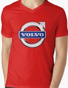 volvo wagon vintage Mens V-Neck T-Shirt