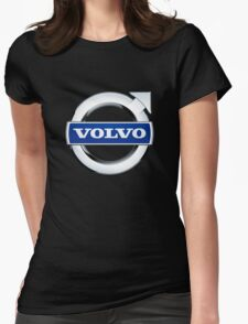 volvo wagon vintage Womens Fitted T-Shirt