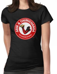 Arm and Chimichanga Womens Fitted T-Shirt