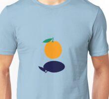 Orange Floating Unisex T-Shirt