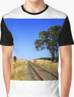 Rail Track to Nowhere Graphic T-Shirt