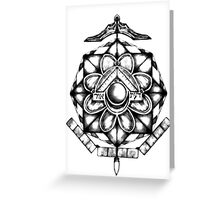 Esoteric Immersion Greeting Card