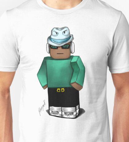 Cool Teal blox Unisex T-Shirt