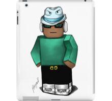 Cool Teal blox iPad Case/Skin