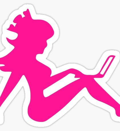 PINK LITERALICON LOGO Sticker
