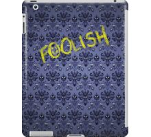 Sherlock at the Haunted Mansion iPad Case/Skin