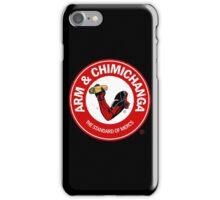 Arm and Chimichanga iPhone Case/Skin