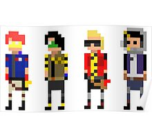 My Chemical Romance - 8-Bit Killjoys Poster