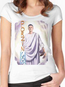 Kristaps Porzingis - PorzinGOD Women's Fitted Scoop T-Shirt