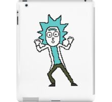 Tiny Rick - Rick and Morty Pixel Art 128x128 iPad Case/Skin