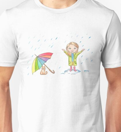 Dancing in the Rain Unisex T-Shirt