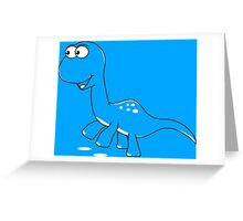 Little Bronto Greeting Card