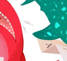 Shark & Whale Shark Mail Sticker