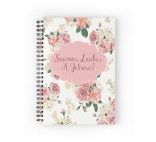SEAMOS LEALES A JEHOVÁ (Diseño no. 2) Spiral Notebook