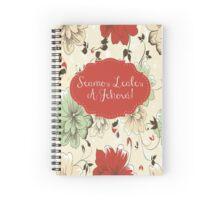 SEAMOS LEALES A JEHOVÁ (Diseño no. 3) Spiral Notebook