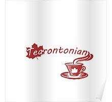 Tea rontonian Poster