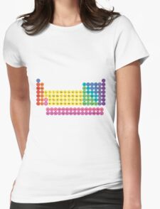 Periodic Table of Element Icons Womens Fitted T-Shirt