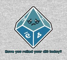 Polyhedral Pals - Have you rolled your d10 today? Kids Tee