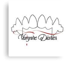 Vampire Diaries Canvas Print