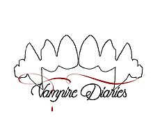 Vampire Diaries Photographic Print