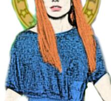 Church Of Tori Amos (transparent background) Sticker
