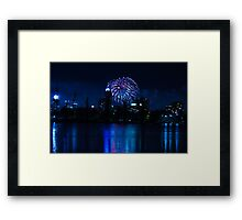 New Years Framed Print