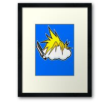 Seventh Cloud Framed Print