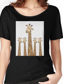 GIRAFFE PORTRAITS Women's Relaxed Fit T-Shirt