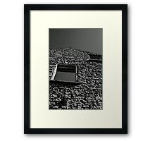 Abandoned Building - Elora, Ontario Framed Print