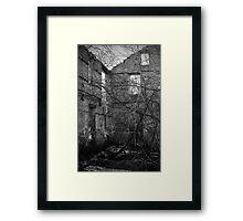 Interior, Abandoned Building - Elora, Ontario Framed Print
