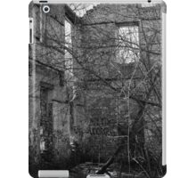 Interior, Abandoned Building - Elora, Ontario iPad Case/Skin