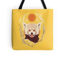 Red Panda on a Sunny Day Tote Bag