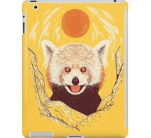 Red Panda on a Sunny Day iPad Case/Skin
