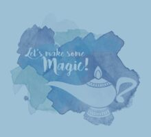 Genie Lamp - Magic Quote Baby Tee