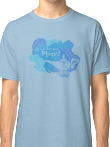 Genie Lamp - Magic Quote Classic T-Shirt