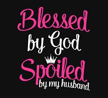Blessed by God Womens Fitted T-Shirt