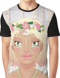 Mother Nature - Spring Graphic T-Shirt