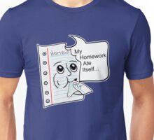 Homework Excuse Unisex T-Shirt