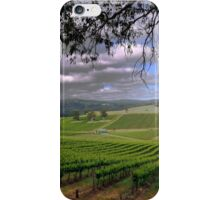 Stormy day in the Vineyard iPhone Case/Skin