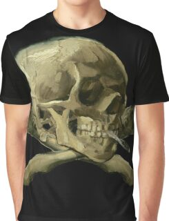 Masterpiece Skull Van Gogh Graphic T-Shirt
