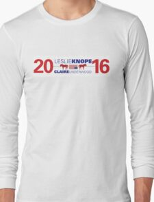 Knope/Underwood 2016 Long Sleeve T-Shirt