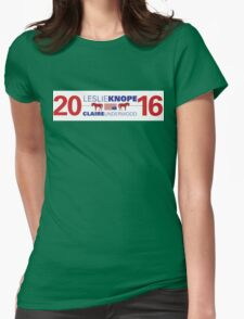 Knope/Underwood 2016 Womens Fitted T-Shirt