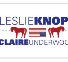 Knope/Underwood 2016 Sticker