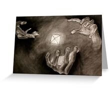 Hands of Power Greeting Card
