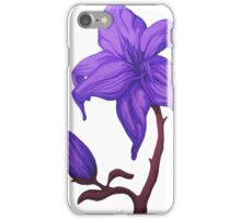 Larger than Life ~Purple~ iPhone Case/Skin